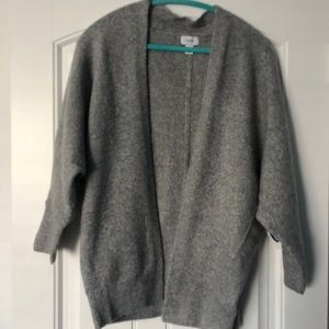 Old Navy Gray Shawl Cardigain